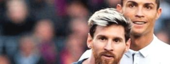 El galgo Ronaldo tras la liebre Messi