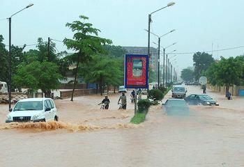 Inundaciones en los países del Sahel.