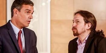 Iglesias quería irse y Sánchez que se fuera, los dos se quedan contentos