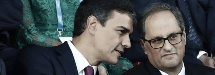 Sánchez dice `No´a las urgencias de Torra