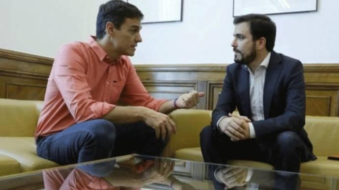 Sánchez se compromete con Garzón a despenalizar la eutanasia