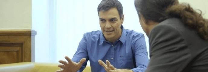 Sánchez e Iglesias: se necesitan pero tienen que destruirse