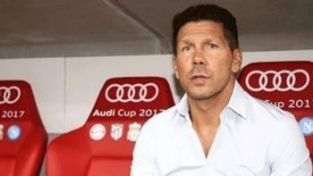 Simeone, satisfacción por 'el nivel de competencia' dentro de su plantilla