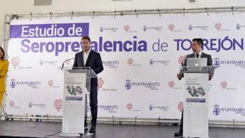 20 de cada 100 vecinos de Torrejón de Ardoz han tenido contacto con el Covid19