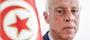 Kais Saied, presidente de Túnez.
