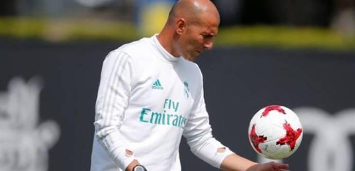 Zidane: 'No hay equipo A y B, hay jugadores importantes'